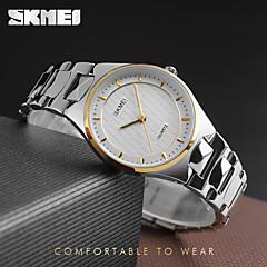 preiswerte Tolle Angebote auf Uhren-SKMEI Damen Armbanduhr Wasserdicht / Cool Edelstahl Band Charme / Luxus / Freizeit Silber