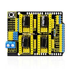 お買い得  マザーボード-keyestudio cncシールドv3彫刻家arduino