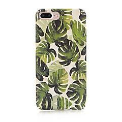 Недорогие Кейсы для iPhone-Кейс для Назначение Apple iPhone X / iPhone 8 Матовое / С узором Кейс на заднюю панель дерево Твердый ПК для iPhone X / iPhone 8 Pluss / iPhone 8