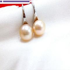 preiswerte Ohrringe-Damen Perle Ohrstecker Tropfen-Ohrringe - Rosa Perle, Graue Perle Simple Style, Modisch Grau / Purpur / Rosa Für Alltag Normal
