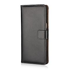 Недорогие Чехлы и кейсы для Galaxy Note Edge-Кейс для Назначение SSamsung Galaxy Note 8 Бумажник для карт Кошелек со стендом Флип Чехол Сплошной цвет Твердый Кожа PU для Note 8 Note