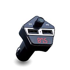 Недорогие Bluetooth гарнитуры для авто-ape6 посвященный bluetooth автомобильное зарядное устройство mp3-плеер fm передатчик автомобиль gps позиционирование