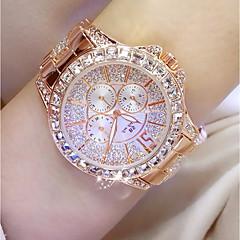 preiswerte Damenuhren-Damen Japanisch Quartz 30 m Armbanduhren für den Alltag Edelstahl Band Analog Charme Modisch Silber / Gold / Rotgold - Gold Silber Rotgold