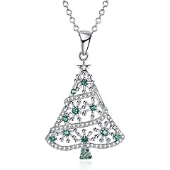 Women's Pendant Necklaces Chain Necklaces Cubic Zirconia Geometric Irregular Zircon Copper Fashion Personalized Jewelry For Gift Christmas
