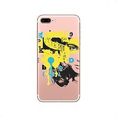 Кейс для Назначение iPhone 8 Прозрачный С узором Задняя крышка Соблазнительная девушка Мягкий TPU для iPhone X iPhone 8 Plus iPhone 8