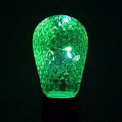 preiswerte LED-Birnen-YWXLIGHT® 1pc 1W 100-200lm E27 LED Kugelbirnen 12 LED-Perlen SMD Dekorativ Warmes Weiß Kühles Weiß Grün Blau 85-265V