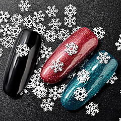 nail glitter art deco / retro joulu naula koruja 0.015kg / laatikko