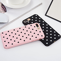 Capinha Para Apple iPhone 7 iPhone 7 Plus iPhone 6 iPhone 6 Plus Antichoque Corpo Inteiro Coração Macia PC para iPhone 7 Plus iPhone 7