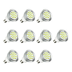10pcs 3W E14 LED Spotlight E14/E12 16 leds SMD 5630 LED Lights Warm White White 260-300lm 3000-3500/6000-6500K AC 220-240V