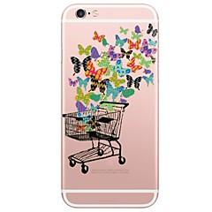 Недорогие Кейсы для iPhone 5-Кейс для Назначение Apple iPhone X iPhone 8 Plus С узором Кейс на заднюю панель Камуфляж Мягкий ТПУ для iPhone X iPhone 8 Pluss iPhone 8