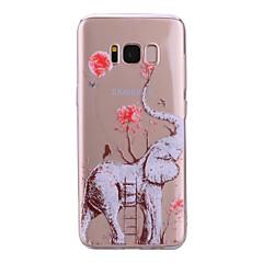 tanie Galaxy S6 Edge Etui / Pokrowce-Kılıf Na Samsung Galaxy S8 Plus S8 Przezroczyste Wzór Etui na tył Słoń Miękkie TPU na S8 S8 Plus S7 edge S7 S6 edge S6