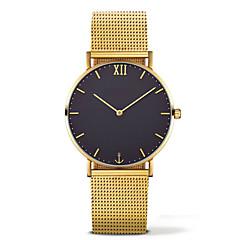 preiswerte Tolle Angebote auf Uhren-Herrn / Damen Chinesisch Chronograph Legierung Band Schwarz / Braun / Grau