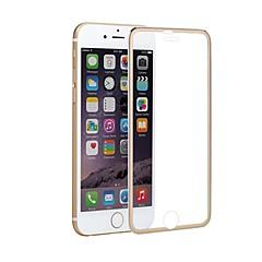 Недорогие Защитные пленки для iPhone 6s / 6-Защитная плёнка для экрана Apple для iPhone 6s iPhone 6 Титановый сплав Закаленное стекло 1 ед. Защитная пленка Зеркальная поверхность