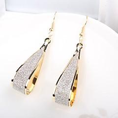preiswerte Ohrringe-Damen Geometrisch Tropfen-Ohrringe - Grundlegend, Elegant Gold Für Alltag / Büro & Karriere