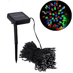 preiswerte LED Lichtstreifen-9m Leuchtgirlanden 100 LEDs 5730 SMD Warmes Weiß Abblendbar / Wasserfest 100-240 V / IP44