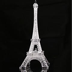 halpa -1pc 19cm romanttinen eiffel-torni johti yövalo työpöytä häät valot lamppu