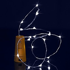 preiswerte LED Lichtstreifen-BRELONG® Leuchtgirlanden 15 LEDs Warmes Weiß Weiß Lila Grün Blau Wasserfest <5V