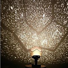 billige Lysende legetøj-Stjernehimmel LED-belysning Astronomisk legetøj og modeller Legetøj Projektor Fantasi LED Børn Voksne 1 Stk.
