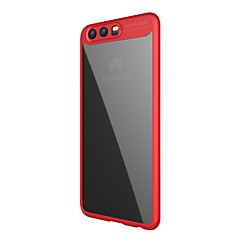 tanie Etui / Pokrowce do Huawei-Kılıf Na Huawei P10 Plus P10 Przezroczyste Etui na tył Solid Color Przezroczysty/a Twarde Akrylowy na Huawei P10 Plus Huawei P10