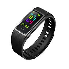 olcso Okos órák-divat s9 színes képernyő intelligens karszalag pulzus vérnyomás vízálló többmozgás mód sport okos karkötő az android és ios
