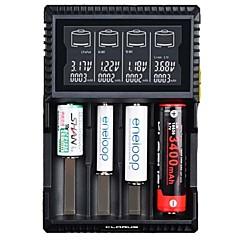 halpa -KLARUS CH4S Akkulaturi lm Automaattinen Tila Kannettava Ammattilais Heat Sink Paras laatu USB-portilla Kevyt ja kätevä Latausilmaisin