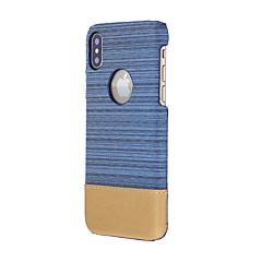 Etui Käyttötarkoitus Apple iPhone X iPhone 8 Iskunkestävä Takakuori Yhtenäinen väri Pehmeä Tekstiili varten iPhone X iPhone 8 Plus iPhone