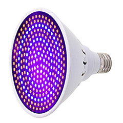 1pc 260leds e27 led vokse 190red 70blue hydroponic led plante indor vokse lys vekstlampe ac85-265v