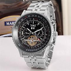 preiswerte Tolle Angebote auf Uhren-Jaragar Herrn Modeuhr / Totenkopfuhr / Armbanduhr Kalender / Cool Edelstahl Band Luxus / Freizeit / Automatikaufzug