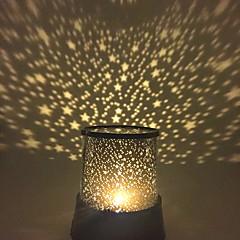 Sternennachtlicht Sternlicht LED - Beleuchtung Projektorlampe Schlafzimmer Bett Licht Spielzeuge Stern Galaxis Mädchen Jungen 1 Stücke