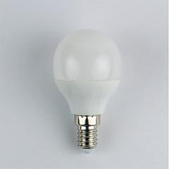 お買い得  LED 電球-1個 4W 310lm E14 LEDボール型電球 G45 6 LEDビーズ SMD 3528 温白色 110-240V