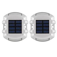 tanie Oświetlenie zewnętrzne-2szt 1W Reflektory LED Dekoracyjna Oświetlenie zwenętrzne Czerwony <5V