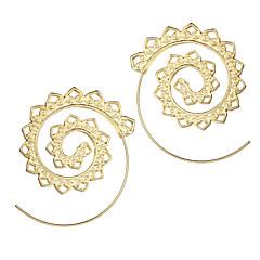 preiswerte Ohrringe-Damen Kreolen - Welle Retro Gold / Silber Für Weihnachten Hochzeit Party