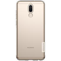 halpa -Etui Käyttötarkoitus Huawei Mate 10 lite Ultraohut squishy Takakuori Yhtenäinen väri Pehmeä TPU varten Huawei Mate 10 Huawei Mate 10 lite