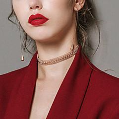 Damskie Naszyjniki choker Stop Vintage Nowoczesne Modny Biżuteria Na Klubowa Bar