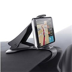 billige -Automotive Universal / Mobiltelefon Monter stativholder Instrumentbræt Universal / Mobiltelefon Buckle Type Plast Holder