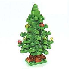 voordelige Kerstmanpakken-Bouwblokken LOZ Diamond Blocks DHZ Non Toxic Kerstmis Kinderen Volwassenen Geschenk