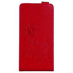 tok Για Huawei Redmi Note 4 Redmi 4Χ Πορτοφόλι Θήκη καρτών με βάση στήριξης Ανοιγόμενη Ανάγλυφη Με σχέδια Μαγνητική Πλήρης κάλυψη Λουλούδι