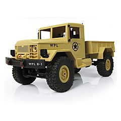 RCカー WPL トラック オフロードカー ハイスピード 4WD ドリフトカー バギー ロッククライミングカー 1:16 ブラシ電気 10 KM / H リモートコントロール 充電式 エレクトリック