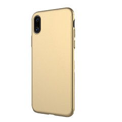 olcso iPhone 7 tokok-Case Kompatibilitás Apple iPhone X iPhone 8 Ütésálló Jeges Héjtok Tömör szín Kemény PC mert iPhone X iPhone 8 Plus iPhone 7 Plus iPhone 7