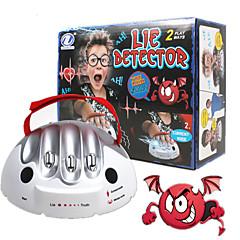 Lügendetektor Lügendetektor-Test für Erwachsene Bretsspiele Spielkonsole Spielzeuge Mikroelektrischer Schlag Spielzeuge 1 Stücke