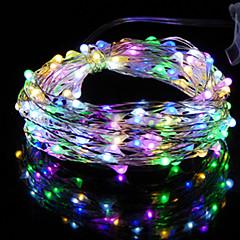 preiswerte LED Lichtstreifen-HKV 2m Leuchtgirlanden 20 LEDs Warmes Weiß / Kühles Weiß / Rot Wasserfest <5 V 1pc / IP65