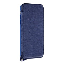 tanie Etui do iPhone 5-Kılıf Na Apple iPhone X iPhone 8 Plus Etui na karty Z podpórką Lustro Czarne etui Solid Color Twarde Skóra PU na iPhone X iPhone 8 Plus