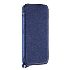 Недорогие Кейсы для iPhone 5-Кейс для Назначение Apple iPhone X iPhone 8 Plus Бумажник для карт со стендом Зеркальная поверхность Кейс на заднюю панель Сплошной цвет