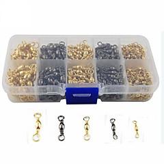abordables Herramientas de Pesca-Pesca clips y giratorios Accesorios de pesca Kits de Pesca Anzuelos Fácil de Usar Pesca de Mar Pesca a la mosca Pesca de baitcasting