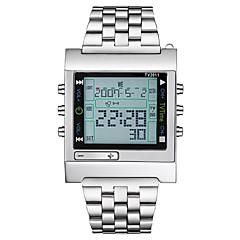 Bărbați Pentru femei Ceas Sport Ceas Militar  Ceas digital Japoneză Quartz Calendar Cronograf Rezistent la Apă LCD Mare Dial Oțel