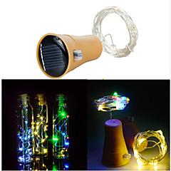 お買い得  LED ストリングライト-1m ストリングライト 10 LED SMD 0603 1M LEDストリップライト 温白色 / クールホワイト 装飾用 <5 V 1個