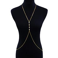abordables Joyería Corporal-Mujer Joyería Corporal Para Cuerpo Moda Perla Artificial Legierung Forma de Círculo Joyas Para Diario