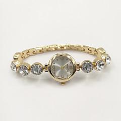 Dames Modieus horloge Armbandhorloge Kwarts Strass imitatie Diamond Legering Band Amulet Informeel Elegant Goud
