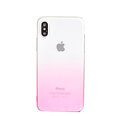 billige Etuier til iPhone 7-Etui Til Apple iPhone X iPhone 8 iPhone 8 Plus iPhone 6 iPhone 6 Plus Transparent Bagcover Farvegradient Blødt TPU for iPhone X iPhone 8