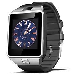 Χαμηλού Κόστους -dz09 αδιάβροχο smartwatch ασφαλές αντι-χαμένο ρολόι παρακολούθησης με κάμερα / facebook κλήση / μουσική vidio playger